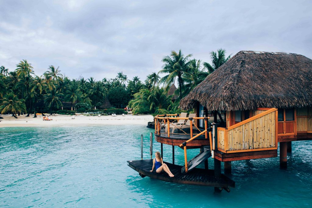Holiday in Tahiti- Over-water Bungalow