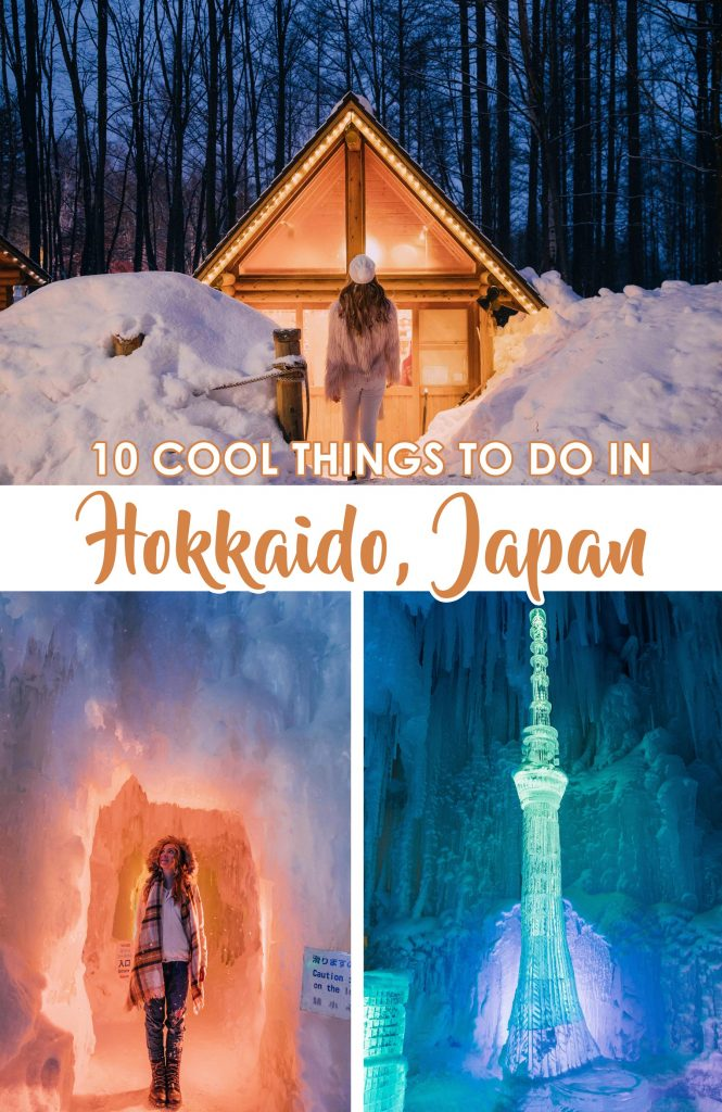 10 COOL things to do in Hokkaido, Japan in Winter
