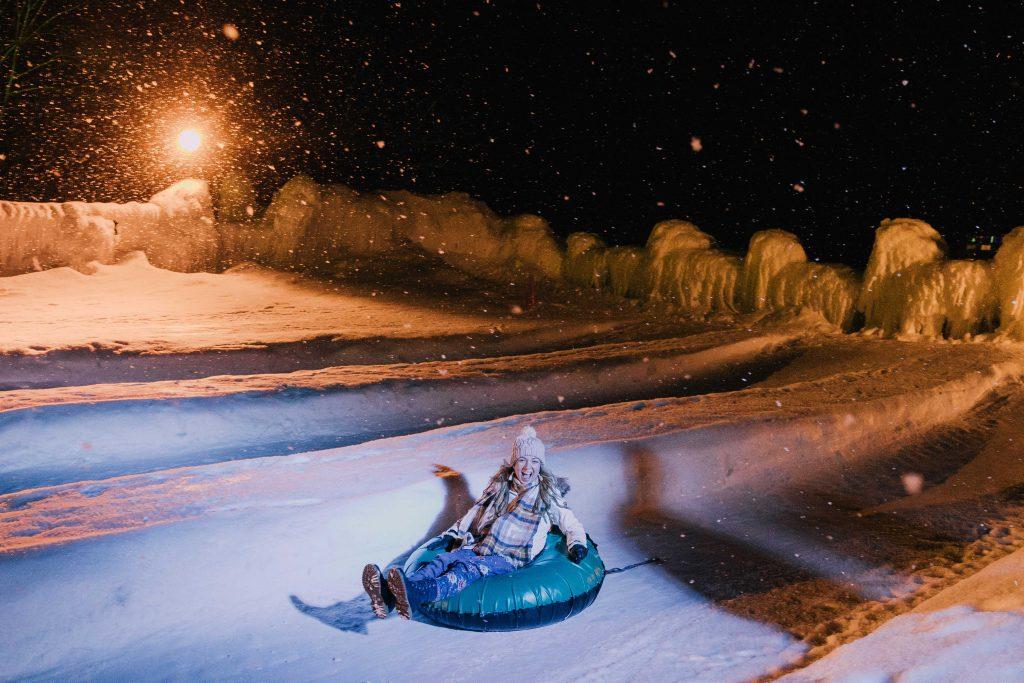 Hokkaido Snow Tubing